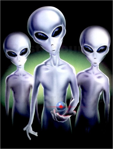 Area 51 - Alien trio