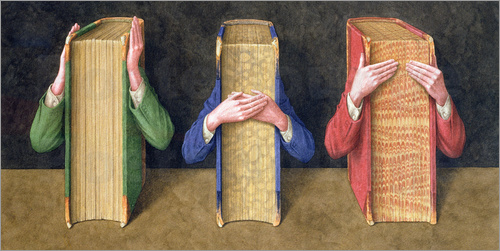Jonathan Wolstenholme - Three Wise Books, 2005