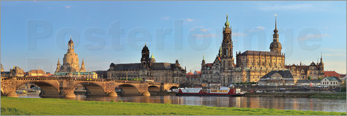 Poster Dresden Canaletto view