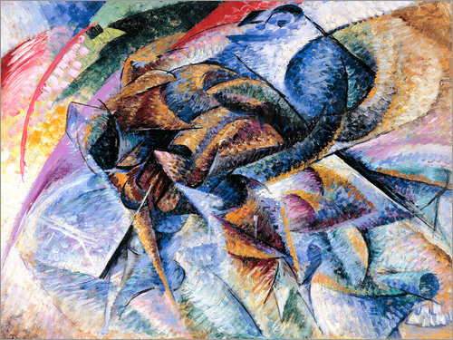 Umberto Boccioni - Dynamism of a Racing Cyclist