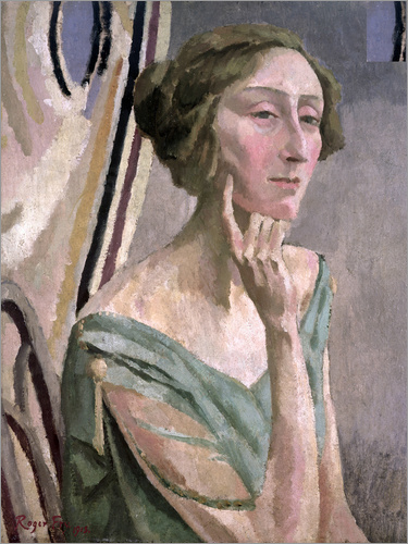 Roger Fry - Portrait of Edith Sitwell , 1915