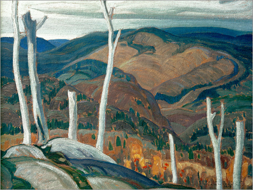 Franklin Carmichael - A Grey Day