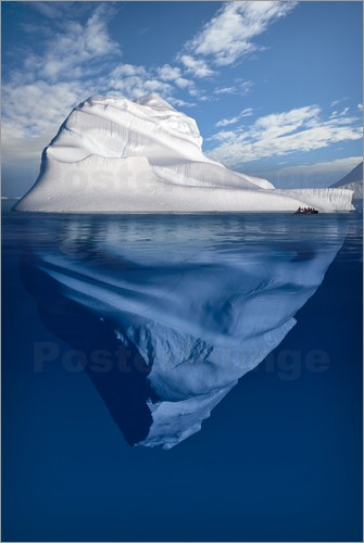 Poster Iceberg, Canadian Arctic