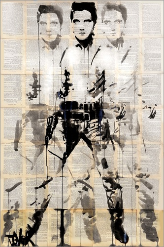 Loui Jover - Elvis after Andy