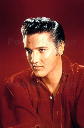 elvis presley poster posterlounge. Black Bedroom Furniture Sets. Home Design Ideas