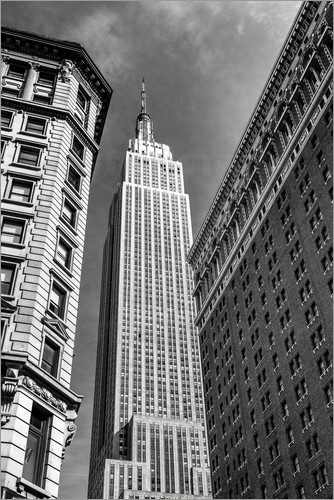 sascha kilmer empire state building nyc monochrome. Black Bedroom Furniture Sets. Home Design Ideas