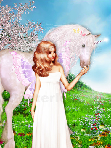 Dolphins DreamDesign - Angel and Unicorn