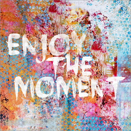 Andrea haase enjoy the moment ii poster posterlounge for Poster jugendzimmer
