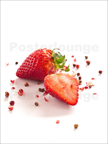 Edith Albuschat - Strawberries with red peppercorns
