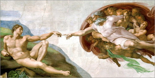 Michelangelo - The Creation of Adam