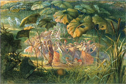 Richard Doyle - Fairy Dance in a Clearing