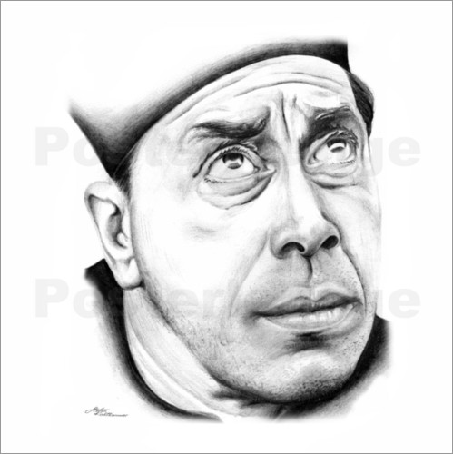 Poster Fernandel is Don Camillo
