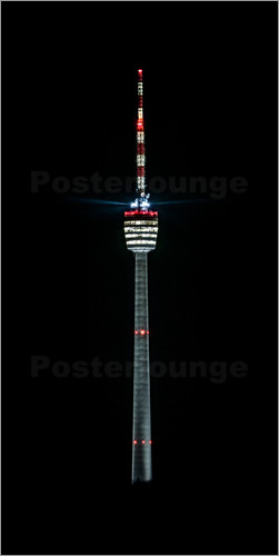 Poster Stuttgart TV Tower
