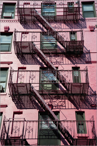 Dosfotos - Fire escapes in Manhattan