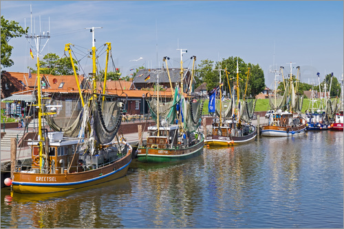 Anna Reinert - Fishing cutters in Greetsiel