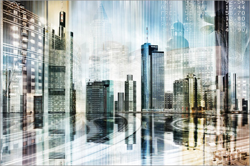 Nettesart - Frankfurt Skyline Germany