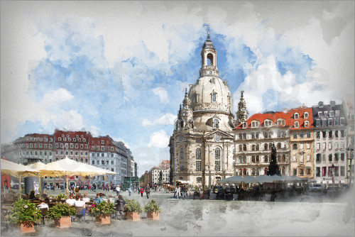 Peter Roder - Frauenkirche in Dresden