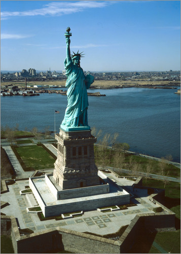 Statue of Liberty in New York, 1978