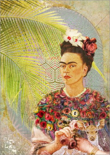 Niky Rahner - Frida Kahlo With Deer