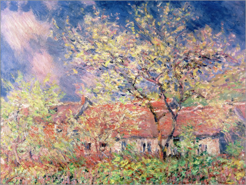 Claude Monet - Spring in Giverny