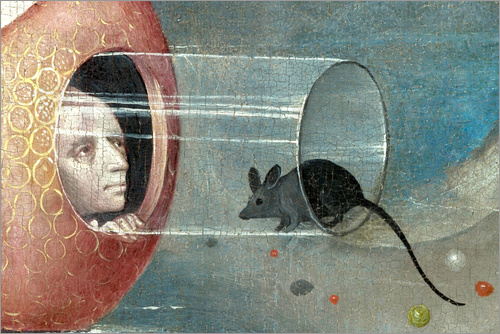 Hieronymus Bosch - Garden of Earthly Delights, mankind before the Flood (detail)