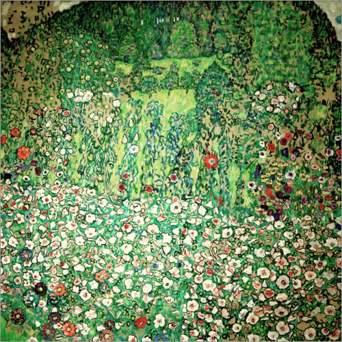 Gustav Klimt - Park Landscape with Mountain Top