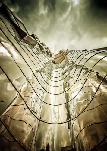 Poster Gehry Duesseldorf | 03
