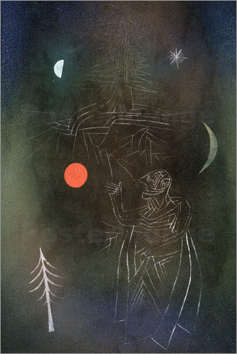Paul Klee - Learned in dealing with stars.