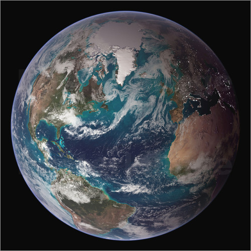 Stocktrek Images - A full view of Earth