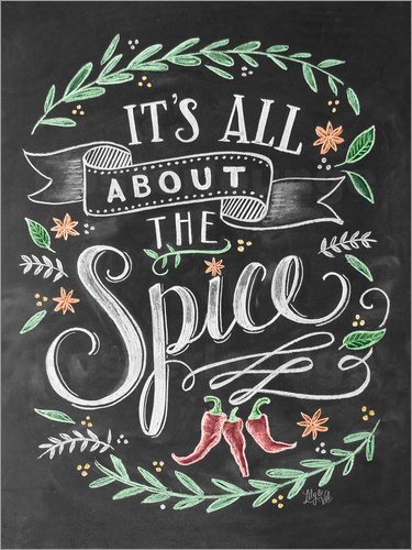 Poster It's all about the Spice