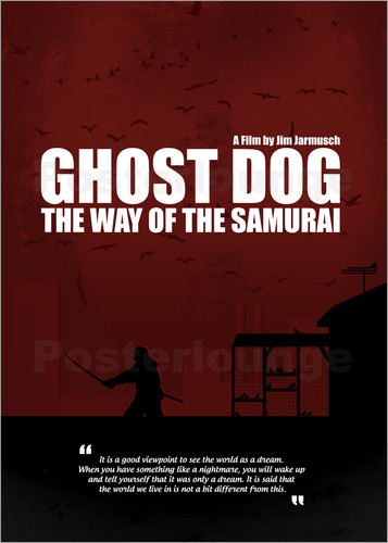Poster Ghost Dog - Minimal Movie Film Cult Alternative