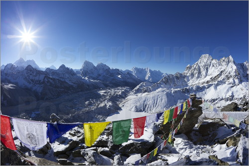 Peter Barritt - Gokyo Ri with Ngozumba Glacier