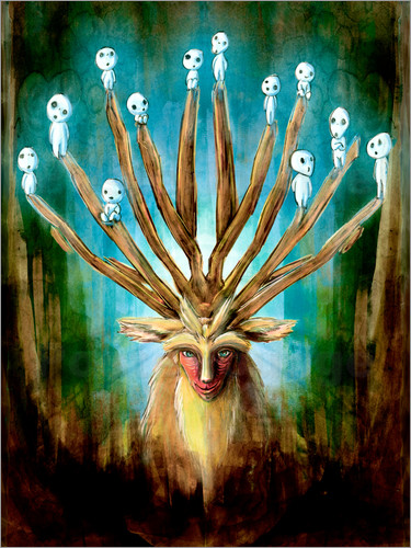 Barrett Biggers - The Deer God of Life and Death