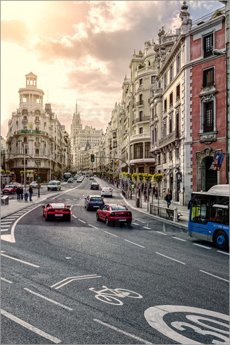Hessbeck Photography - Gran Via, Madrid, Spain