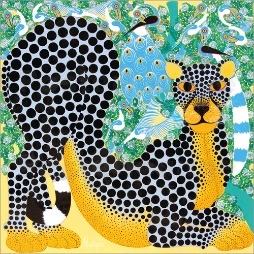 Poster Delicate Leopard