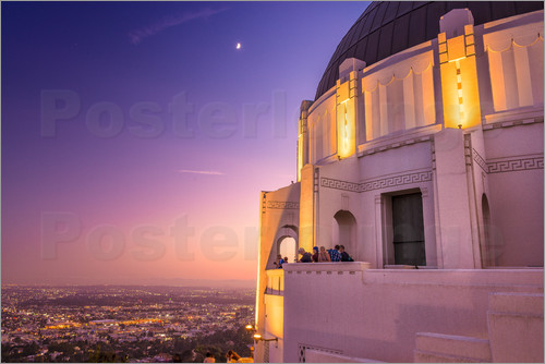 Poster Griffith Observatory