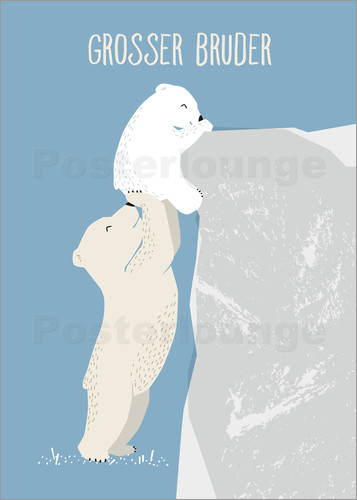 Sandy Lohß - big brother, polar bear