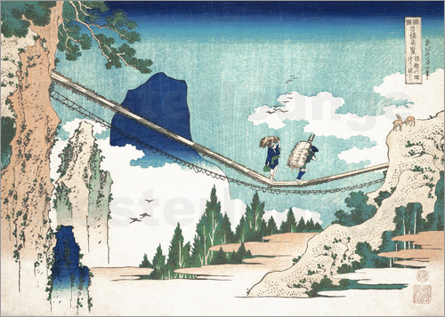 Katsushika Hokusai - Minister Toru, from the series Poems of China and Japan