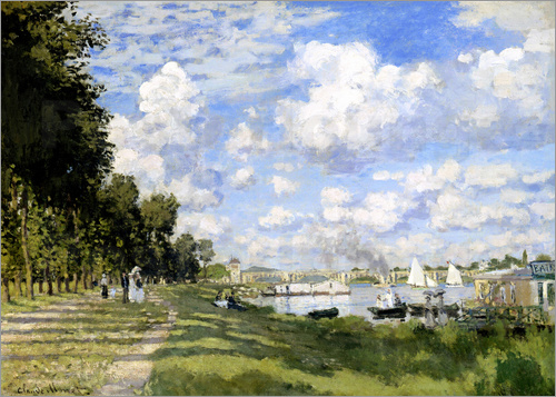 Claude Monet - The Marina at Argenteuil