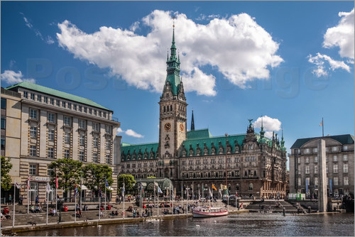 Christian Müringer - Town hall of Hamburg