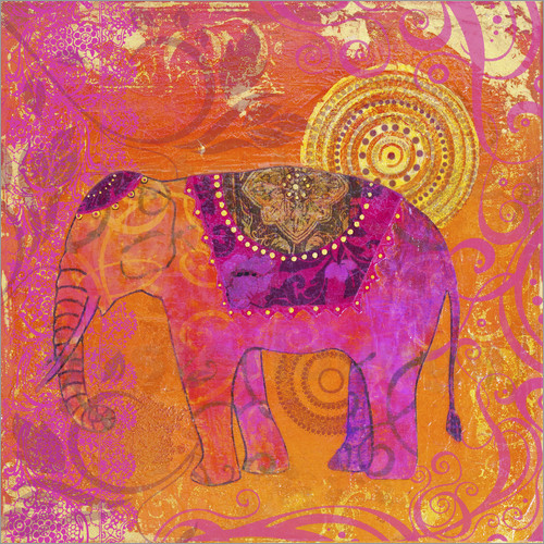 Andrea Haase - happy Elephant III