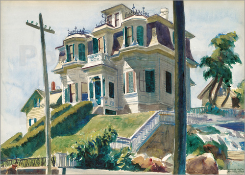 Edward Hopper - Haskell's House
