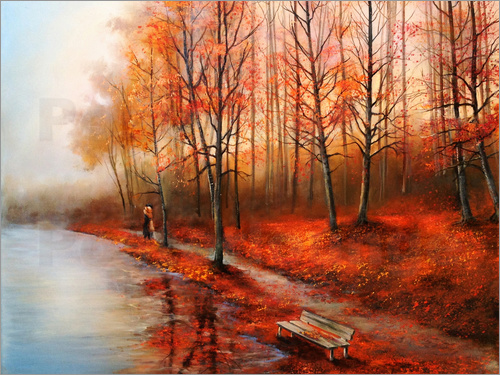 Ludmilla Gittel - Autumn in red