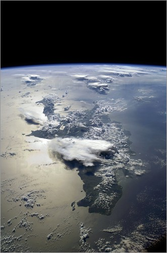 Nasa - Hispaniola, ISS image