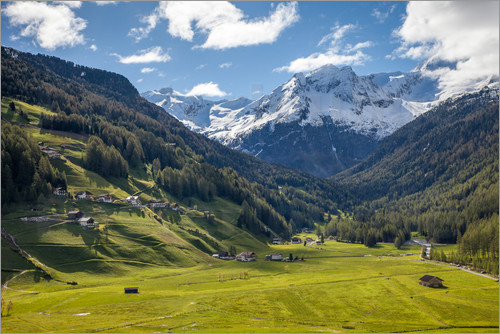 Christian Müringer - High mountain valley at Riva di Tures South Tyrol (Italy)