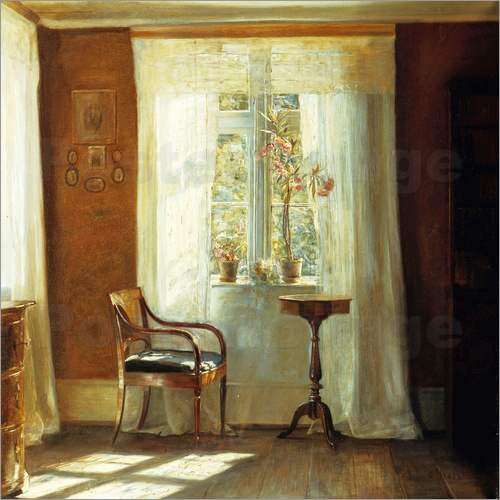 Carl Holsoe - The Artist's Home at Lyngby