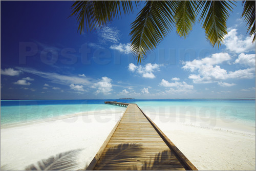 Sakis Papadopoulos - Wooden jetty out to tropical sea