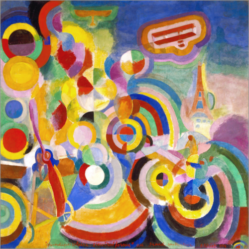 Robert Delaunay - Homage to Blériot