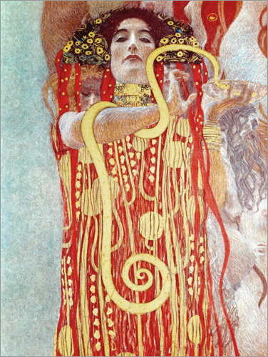 Poster Hygieia Detail from the medicine