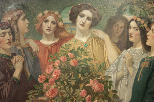 John Duncan - Hymn to the Rose (detail)